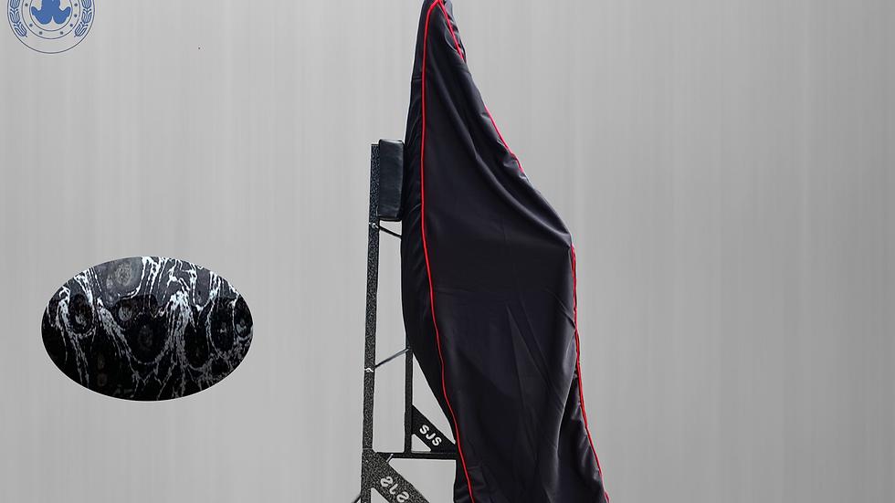 Hardtopcover Staubschutzhülle,schwarz + Hardtopständer für Fiat 124 Spider