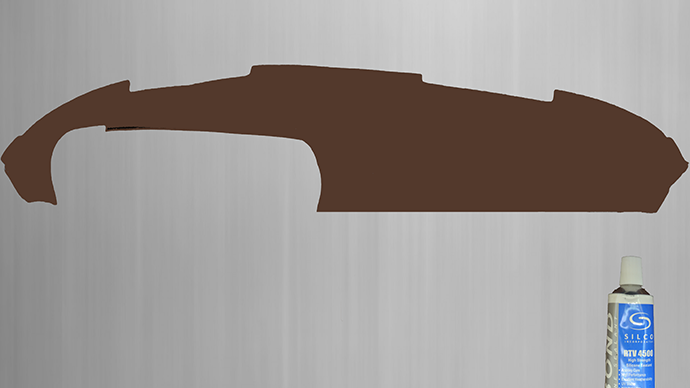 Dashboard Cover Cover for Porsche 69-85 911, 912, 930, brown  Dashboard covers allow quick and easy repair of damaged dashboards.  The cockpit of your Porsche is a work of art and is part of what makes driving your car so special. Unfortunately, trim around the cabin will fade, break, and even crack over time, affecting the look of your interior. The biggest, most noticeable piece that will fade over the years is the instrument panel cover. While most of the interior of your dashboard fades or breaks, it's often the first thing people notice when you're in your car.  These dashboard covers offer an alternative to replacing your entire dashboard and protect against damage or damage in the interior. A high-quality part that protects your Porsche Classic interior from damage or obscures unsightly, faded dashboards.    Suitable for Porsche 69-85 911, 912, 930    Also available in other colors, for example: blue, camel / date, black or beige,  with other color request please ask!  An adhesive is included (see pictures)