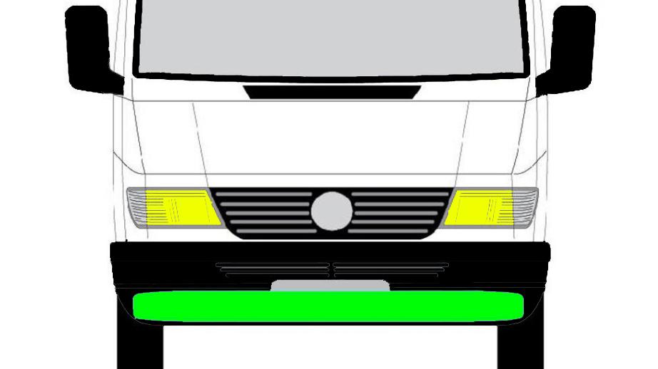 Front Querträger unten für Mercedes Sprinter VW LT 1995-2000
