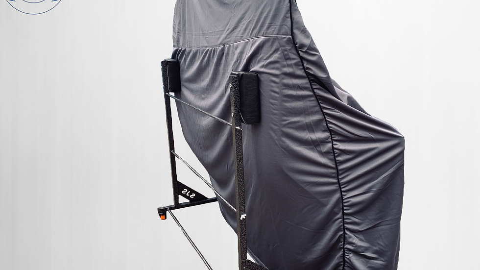 Hardtopcover Staubschutzhülle cover Hardtophülle, grau für Fiat 850 Spider NEU