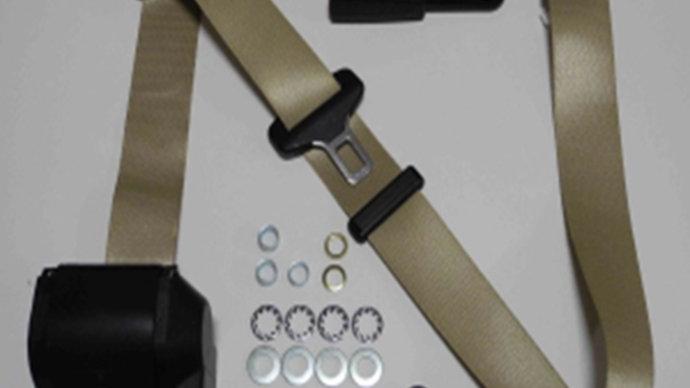 Dreipunkt Automatik Sicherheitsgurt,beige,passend für SL R/107
