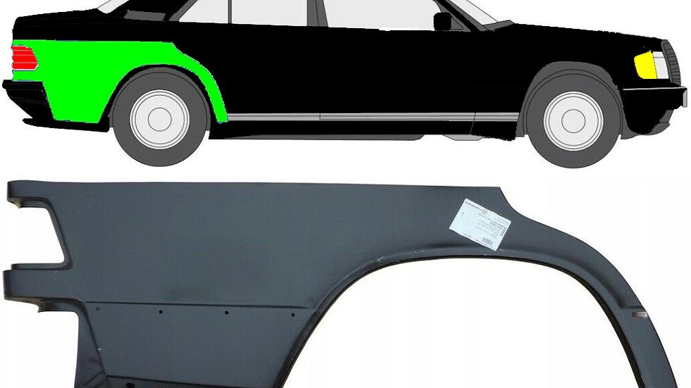 1/4 Radlauf Reparaturblech Kotflügel / rechts für Mercedes 190 W201 1982-1993