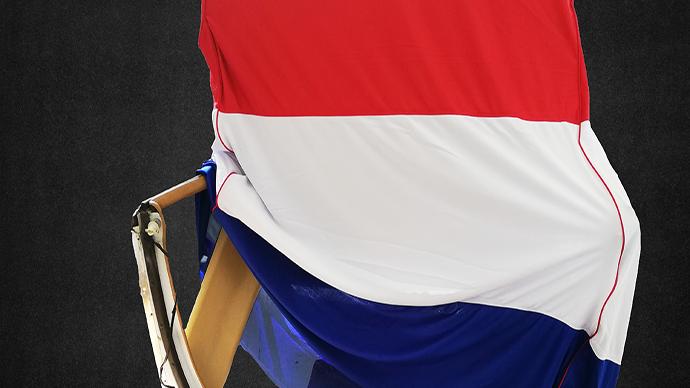 Hardtopcover Staubschutzhülle Hollandflagge Holland + Hardtopständer