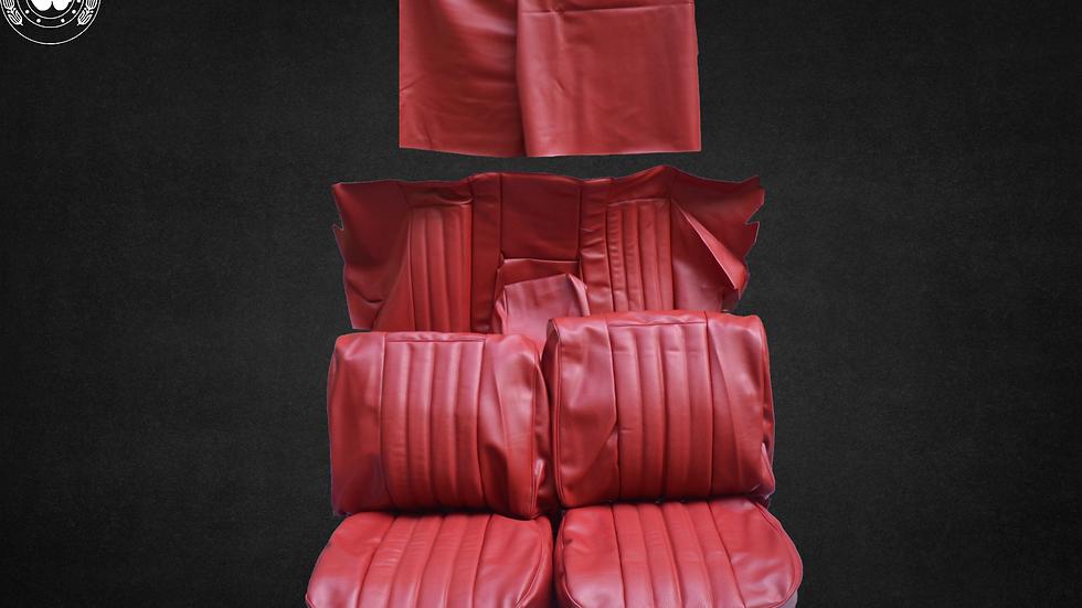 Sitzbezüge für Mercedes Benz W111 Coupe , rot