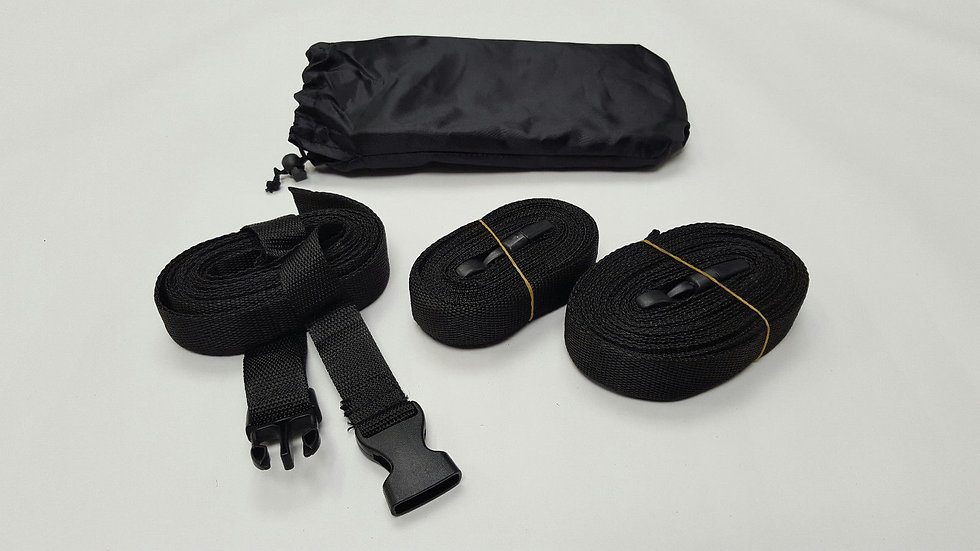 Extra fastening straps for the car covers