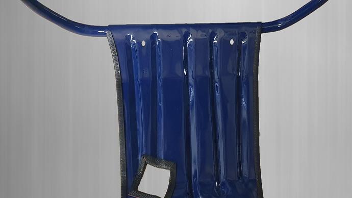 Unterfahrschutz Schutz für Mercedes W123 Panzerschutz mit Dichtungsrahmen, blau