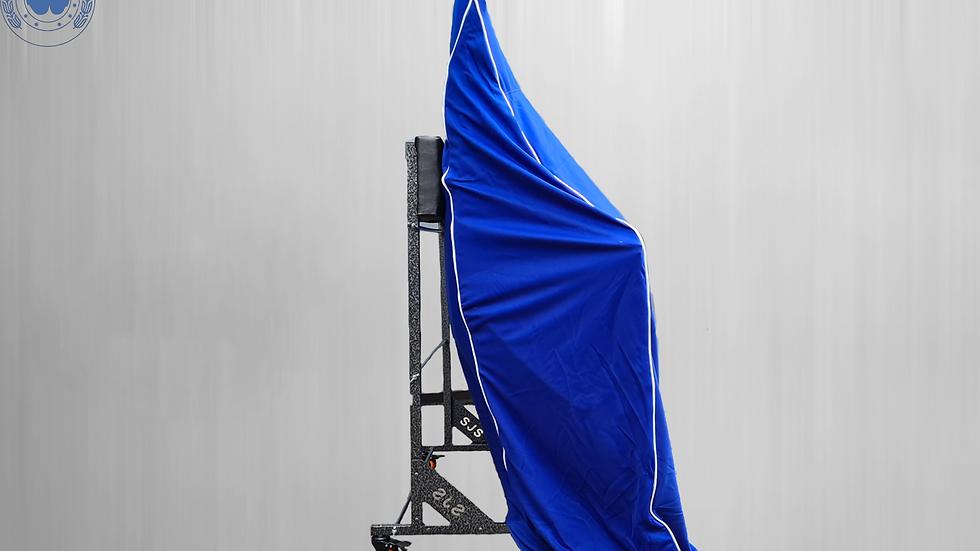 Hardtopcover Staubschutz Schutzcover Hardtop,blau für Mercedes SL W113 Pagode