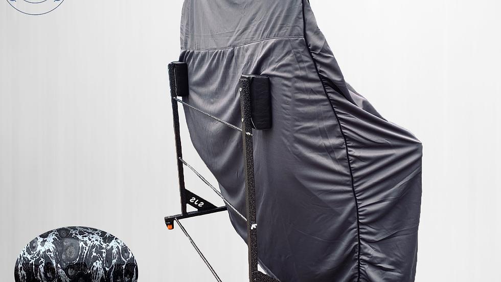 Hardtopcover Staubschutzhülle grau + Hardtopständer für BMW 3er E46