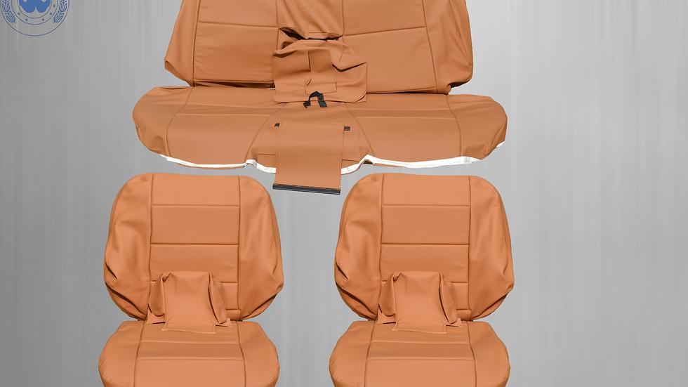 Sitzbezüge Bezüge passend für BMW 3er-Reihe E36 Cabrio ,kamel dattel