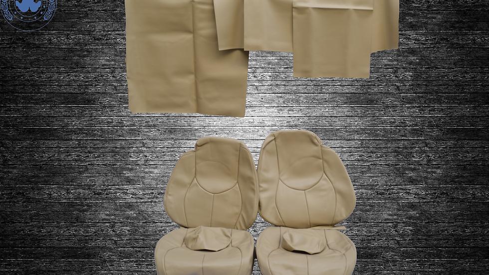 Sitzbezüge für Mercedes SL R129 ab Bj.96,  beige