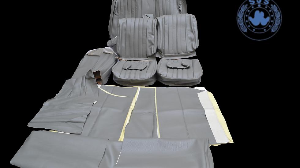 Sitzbezüge für Mercedes  Benz W108 , Kunstleder grau