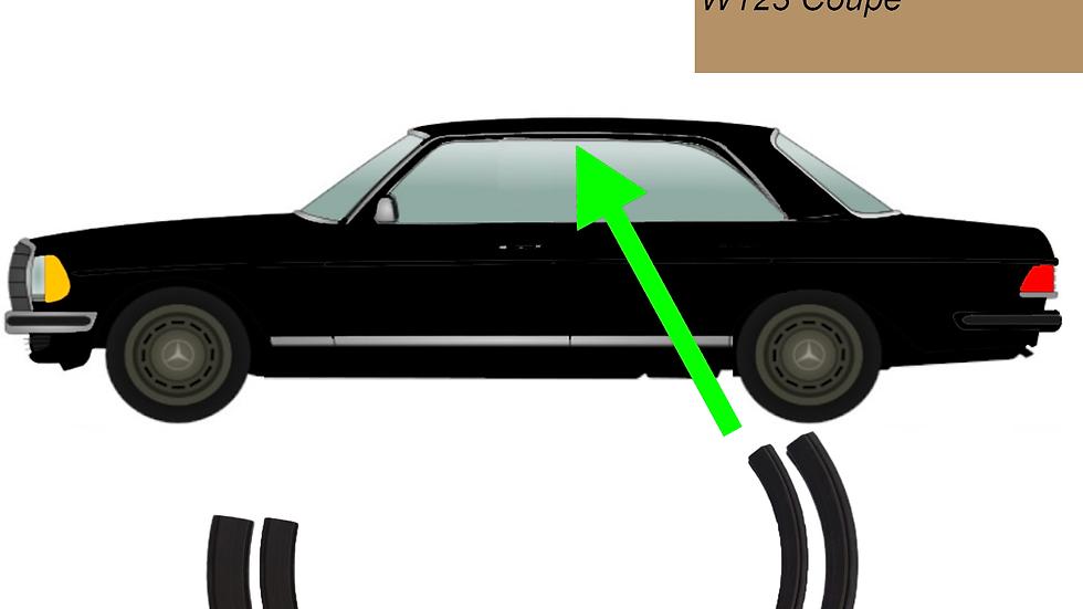 Abdichtung Dachrahmen A-C Säule für Mercedes W123 Coupé links