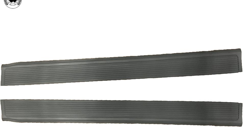 Gummi Einstiegsleisten Schweller für Mercedes SL107 R107/W107 grau