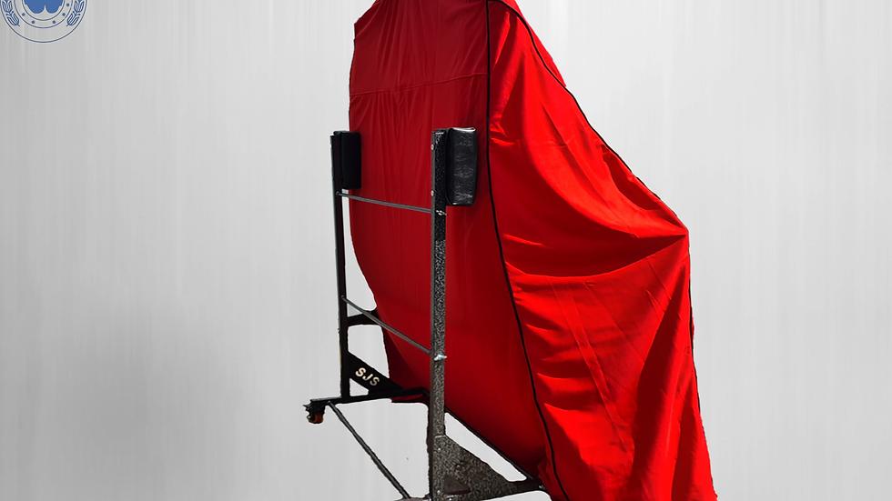 Hardtopcover Staubschutzhülle Cover Hardtophülle, rot für BMW 3er E30