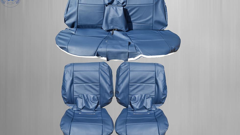 Sitzbezüge Bezüge passend für BMW 3er-Reihe E36 Cabrio , blau