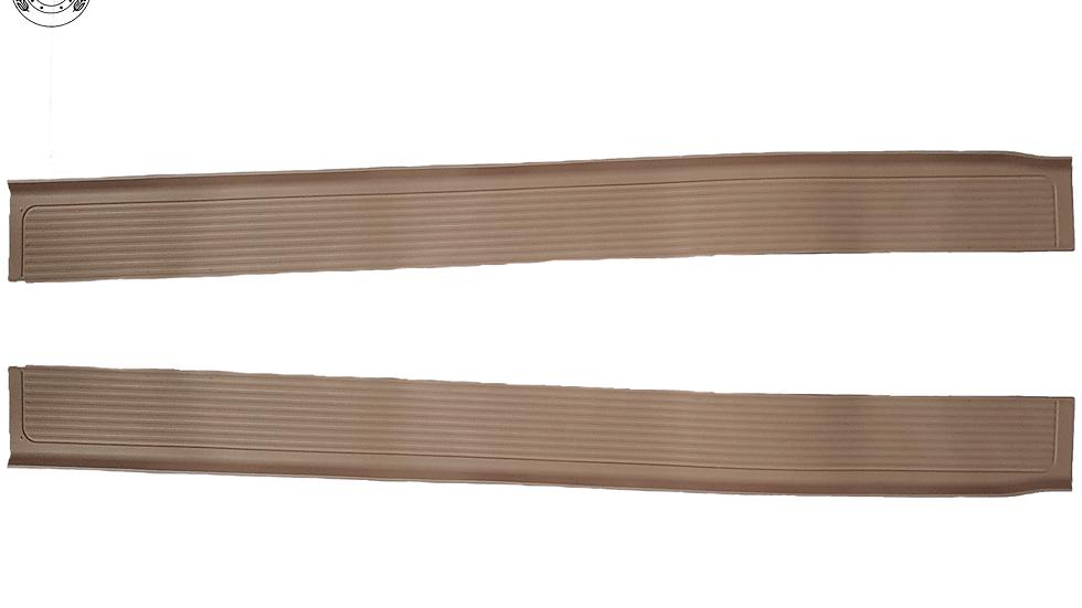 Gummi Einstiegsleisten Schweller für Mercedes SL107 R107/W107 cream