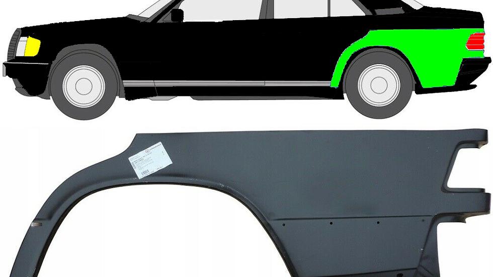 1/4 Radlauf Reparaturblech Kotflügel / links für Mercedes 190 W201 1982-1993