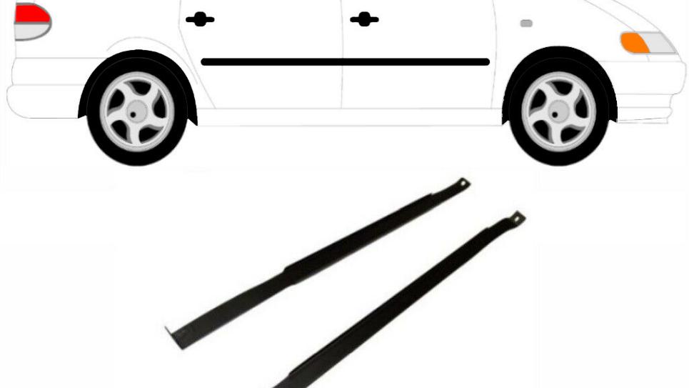 2x Tankband Tank Kraftstofftankbänder für Ford Galaxy 1995-2010