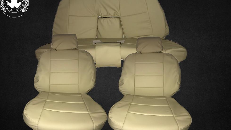 Sitzbezüge passend für BMW 3er-Reihe E36 Cabrio , creme-beige