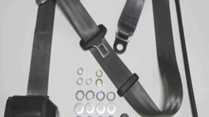 Dreipunkt Automatik Sicherheitsgurt,grau,für W114/W115