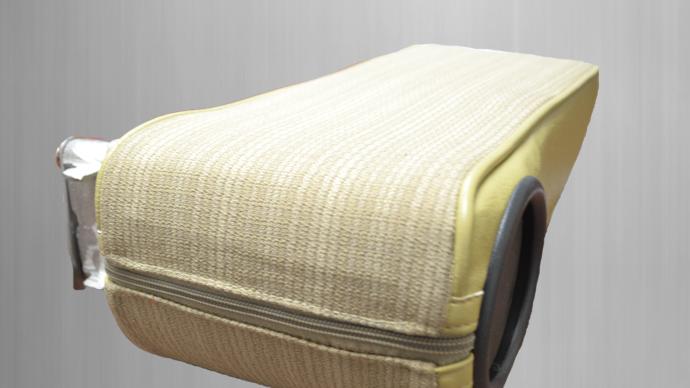 Mittelarmlehne für Mercedes W124 Stoff,Creme-beige, polstercode 075