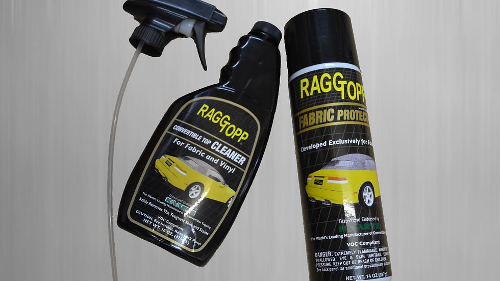 Reiniger und Imprägnierer für Stoff-Verdecke Top Set Verdeckreiniger Effektiv