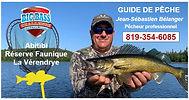 Guide de pêche Jean-Sébastien Bélanger