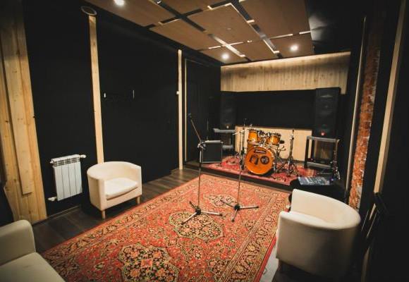 Репетиционная база Т-34 комната №2