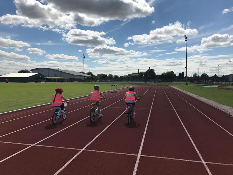Track Cyclig at Shobnall