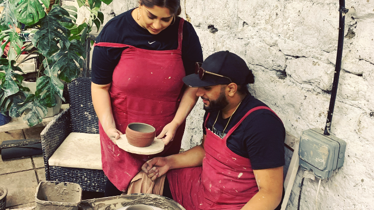 Pottery for Two | Christmas Gift Voucher