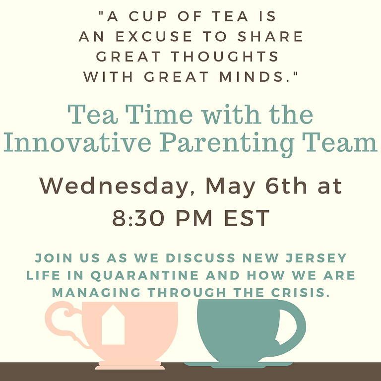 Tea Time with the Innovative Parenting Team