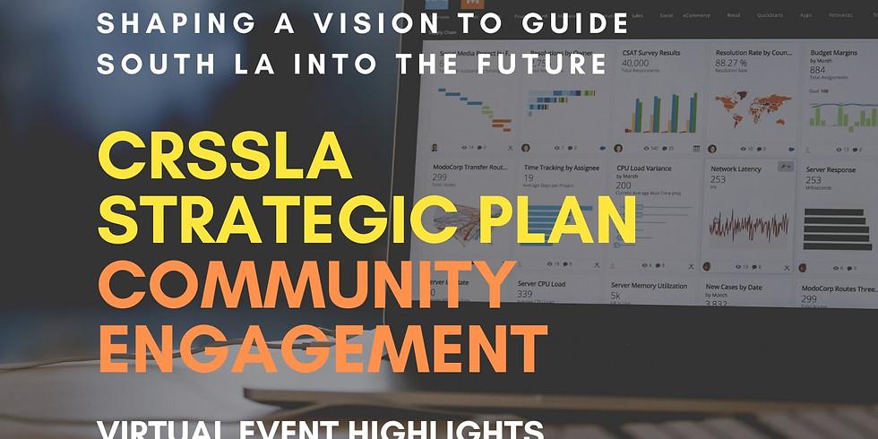 CRSSLA Strategic Plan: Community Engagement