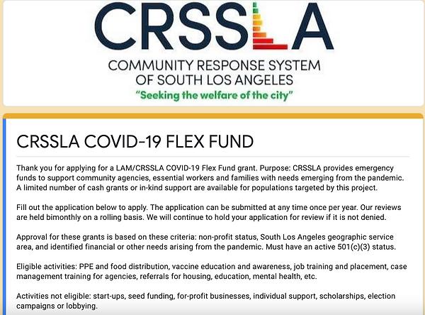 CRSSLA Flex Fund