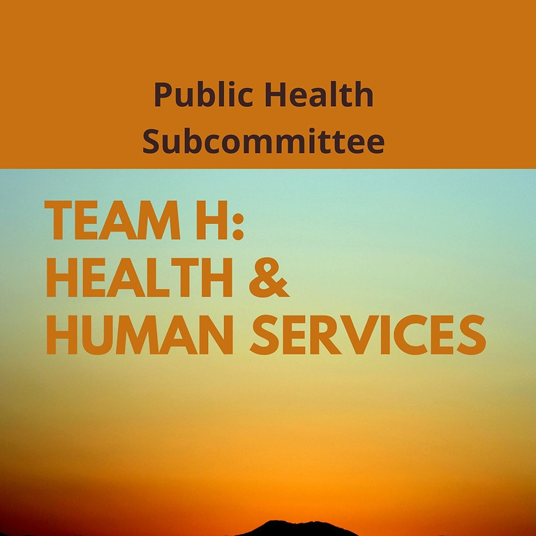 CRSSLA Public Health Weekly Subcommittee Meeting