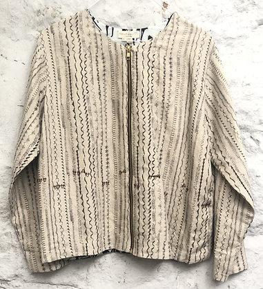 Scribble Zipper Jacket