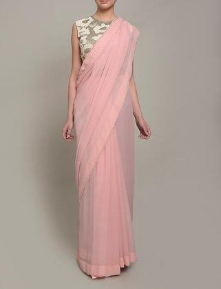 Sequins Splatter sari set