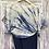 Thumbnail: Shibori skirt sari set