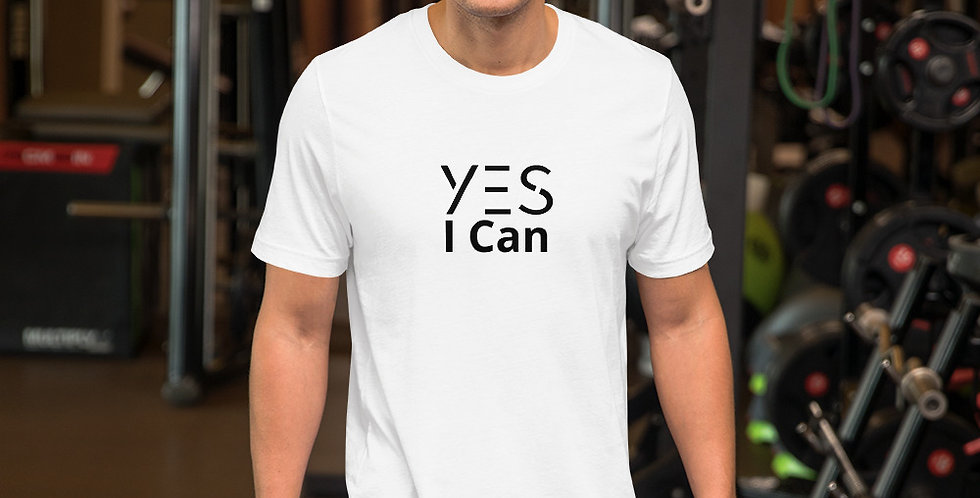 Camiseta unisex de manga corta - Yes I Can