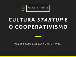 Cultura startup e o cooperativismo