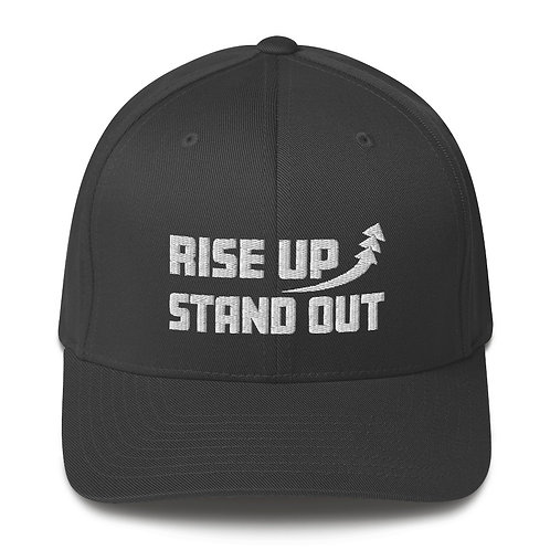 RISE UP STAND OUT Twill Cap