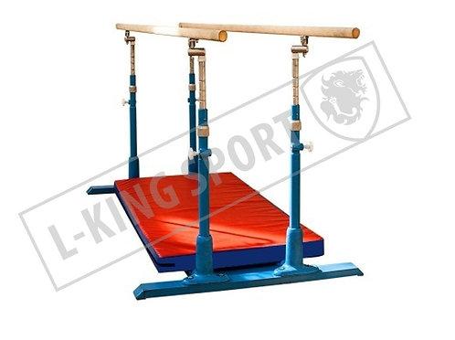 Мат защитный для брусьев гимнастических параллельных 2130х430х60мм (тент)