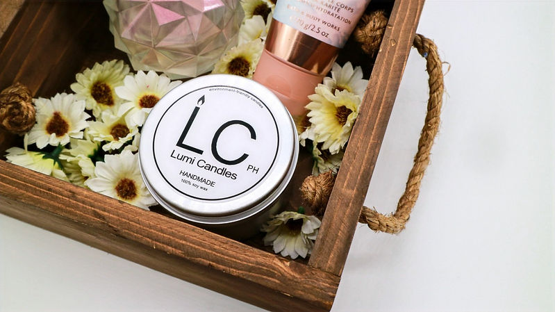 scented soy candles philippines - Lumi Candles PH