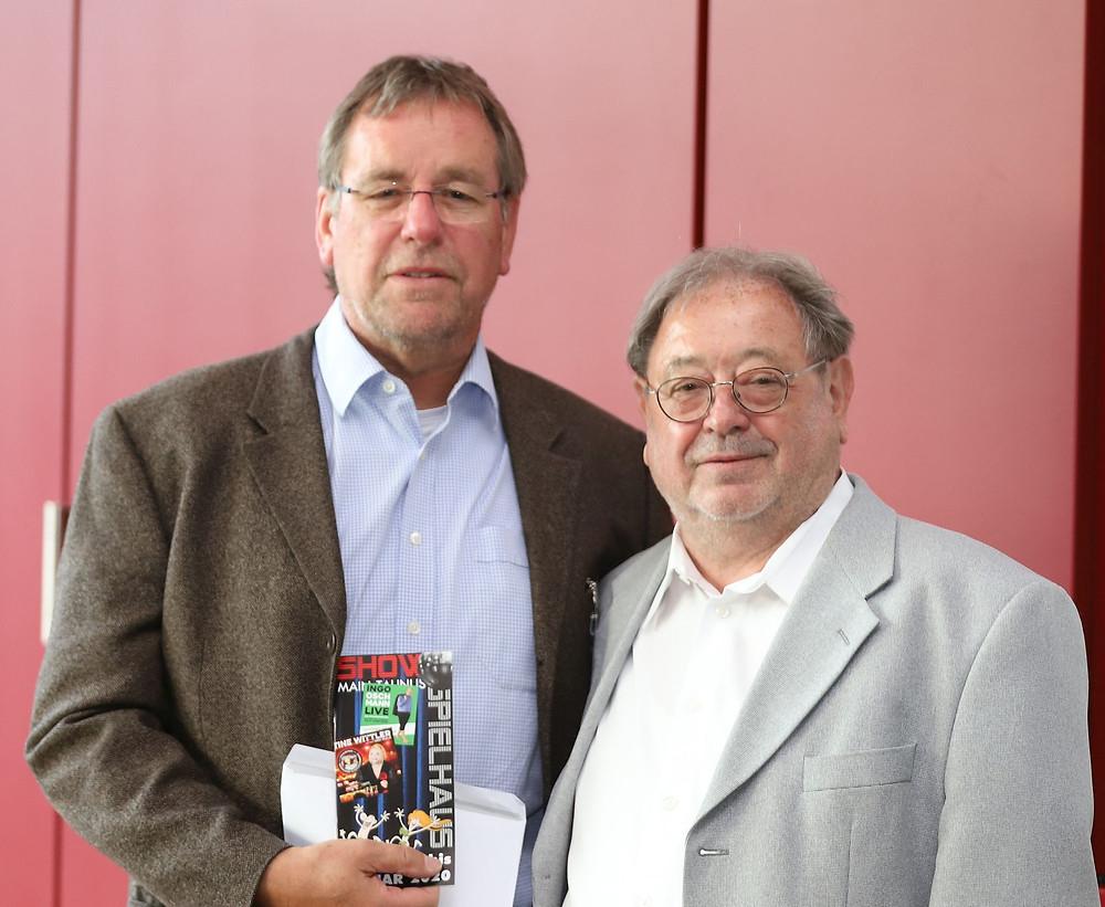 Geschäftsführer Jürgen Lamberty und Vorsitzender Walter Mirwald
