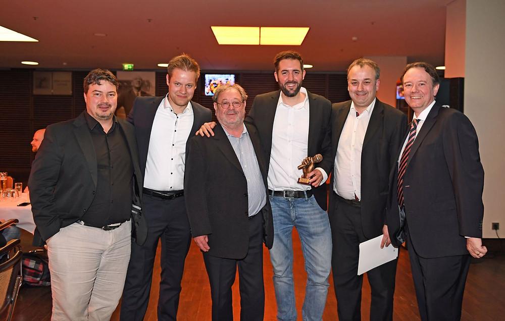 VFS-Mitglieder bei Ehrung in Berlin