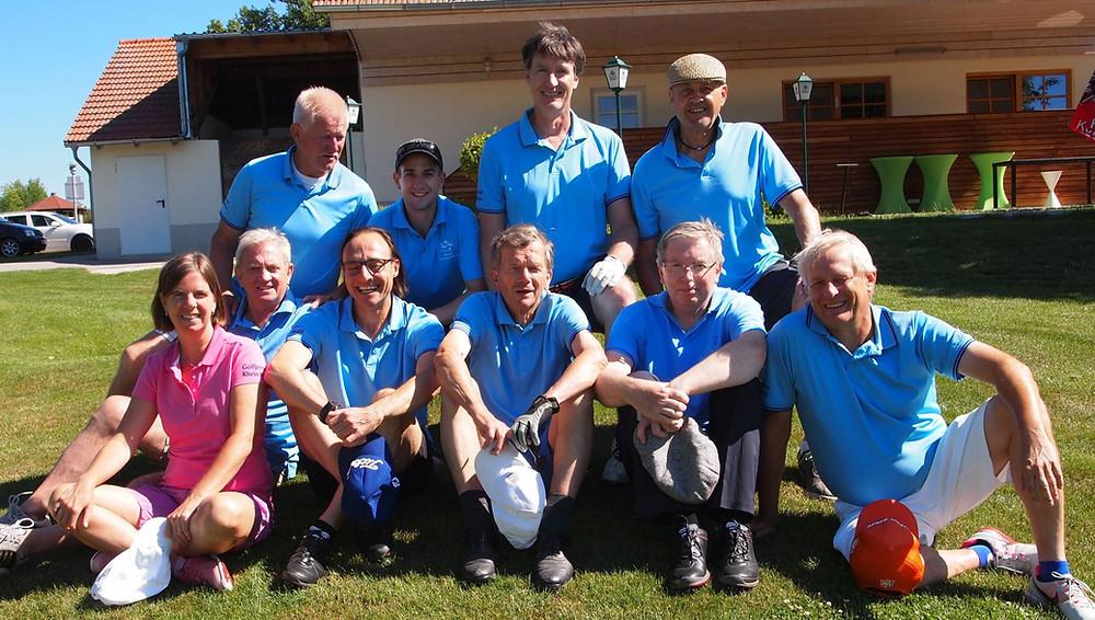 Die Golfer der Frankfurter Sportpresse