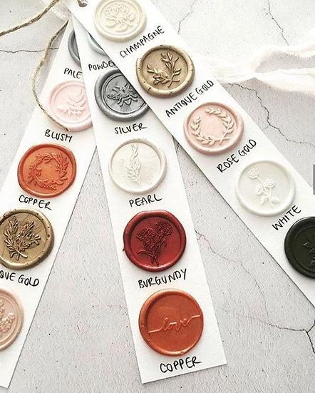 Wax Seal Sample Pack