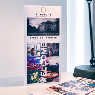 FOLDER /SUNLIGHT HOTEL CONFERENCE & SPA