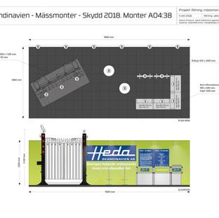 MÄSSMONTER / HEDA SKANDINAVIEN