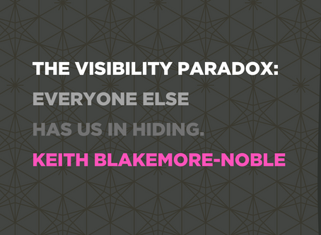 Keith Blakemore-Noble on the Visibility Paradox