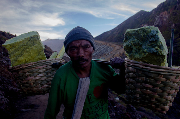Work at Mount Ijen